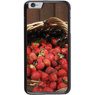 Ayaashii Litchi Basket Back Case Cover for Apple iPhone 6S