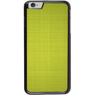 Ayaashii Green Checks Pattern Back Case Cover for Apple iPhone 6S