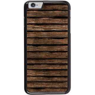 Ayaashii Old Wooden Stripes Back Case Cover for Apple iPhone 6S