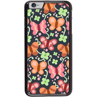 Ayaashii Butterfly Pattern Back Case Cover for Apple iPhone 6S