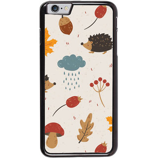 Ayaashii Raining Cloud Pattern Back Case Cover for Apple iPhone 6S