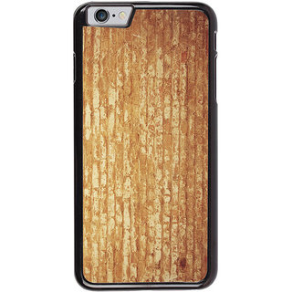 Ayaashii Wooden Stripes Back Case Cover for Apple iPhone 6S