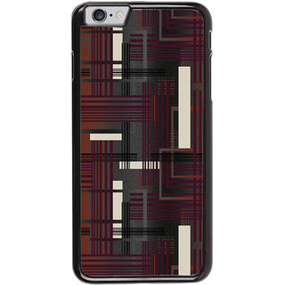 Ayaashii Lines Abstract Back Case Cover for Apple iPhone 6