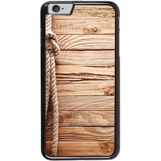 Ayaashii Rope On Wood Back Case Cover for Apple iPhone 6S