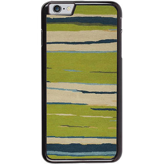 Ayaashii Horizontal Colors paint Back Case Cover for Apple iPhone 6