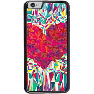 Ayaashii Heart Abstract Back Case Cover for Apple iPhone 6