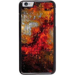 Ayaashii Colorful Painting Back Case Cover for Apple iPhone 6S