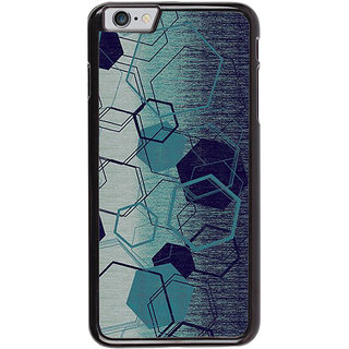 Ayaashii Hexagon Pattern Back Case Cover for Apple iPhone 6S