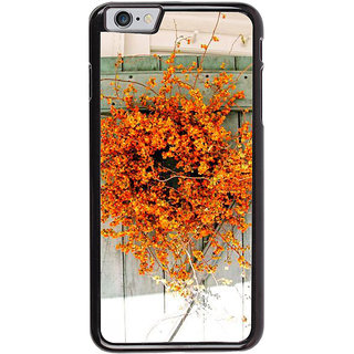 Ayaashii Yellow Flower Pot Back Case Cover for Apple iPhone 6S
