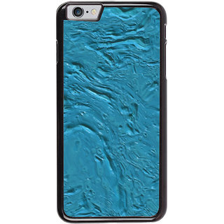 Ayaashii Blue Color Paint Back Case Cover for Apple iPhone 6S