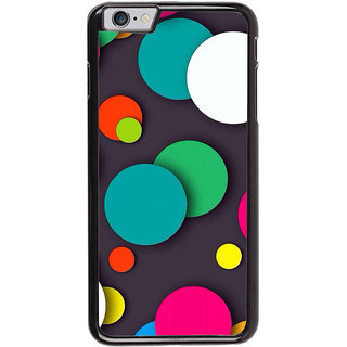Ayaashii Colorful Circle Pattern Back Case Cover for Apple iPhone 6S