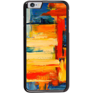 Ayaashii Colorful Painting Back Case Cover for Apple iPhone 6