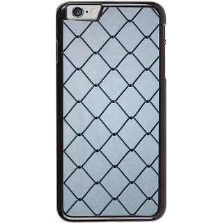 Ayaashii Iron Net Back Case Cover for Apple iPhone 6S