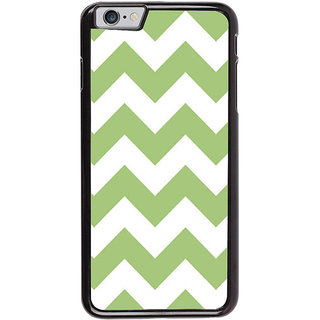 Ayaashii Horizontal Zigzag Pattern Back Case Cover for Apple iPhone 6S