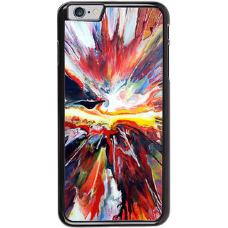 Ayaashii Mixed Colors Back Case Cover for Apple iPhone 6