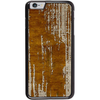 Ayaashii Wooden Stripes Back Case Cover for Apple iPhone 6