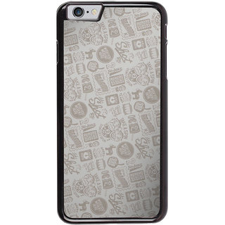 Ayaashii Quotes/Messages Pattern Back Case Cover for Apple iPhone 6