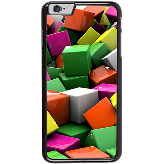 Ayaashii Colorful Cubes Back Case Cover for Apple iPhone 6