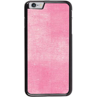 Ayaashii Pink Cloth Back Case Cover for Apple iPhone 6