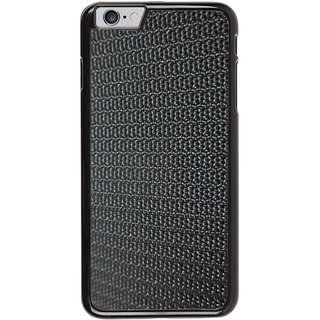 Ayaashii Black Rough Pattern Back Case Cover for Apple iPhone 6