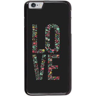Ayaashii LO VE Back Case Cover for Apple iPhone 6