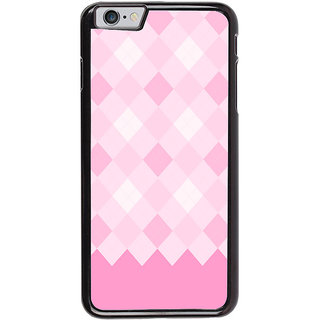 Ayaashii Pink Diamond Pattern Back Case Cover for Apple iPhone 6