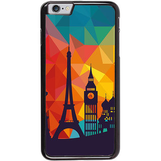 Ayaashii Colorful Background With Symbols Back Case Cover for Apple iPhone 6