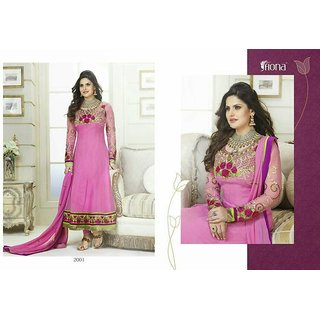 Semi Stitch Georgette Dress Material