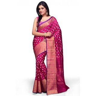 Sri Pink Na Ikkat Saree