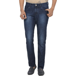 FEVER Dark Blue Cotton Denim Jeans