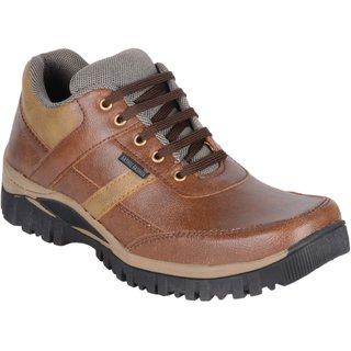 buy shoeniverse men's brown lace up casual shoes online