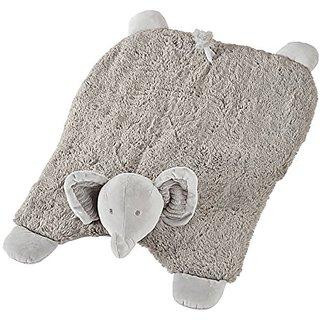 Mud Pie Plush Mat Tummy Time Nursery Dcor, Elephant