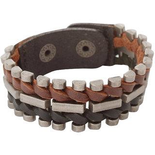 Grandiose  Non Plated Multicolor Others Bracelets For Men