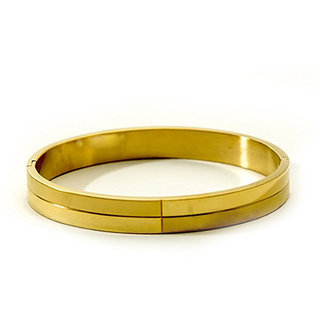 Grandiose  Non Plated Gold Others Kadas For Unisex