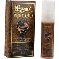 Shama Pure Oudh Series Alcohol Free, Undiluted Perfume For Men , 60 Ml Bottle - (Brand Outlet)