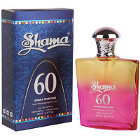 SHAMA 60 Series Alcohol Free, Undiluted Perfume For Unisex,100 Ml Bottle - (Brand Outlet)
