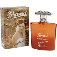 SHAMA Glitter Women Series Alcohol Free, Undiluted Perfume For Unisex,100 Ml Bottle - (Brand Outlet)