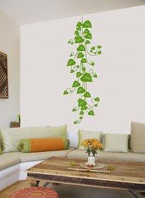 New Way Decals-Wall Sticker (7569) ''Green Leaf Branch''