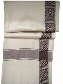 Women's Woven Black Woollen Free Size Shawls (rm-210-3)