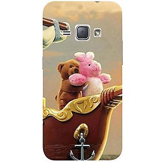 Casotec Funny Titanic Design 3D Printed Hard Back Case Cover for Samsung Galaxy J1 (2016)