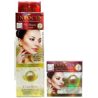 INFOCUS Professional Pearl Beauty Whitening Cream 100 Original Pakistan Brand