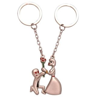 Exclusive Couple Key Chain Key Rings For Bike Or Car  Gift Too