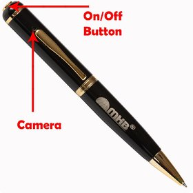 M MHB HD Quality Pen Camera Video/ Audio Hidden Recording,HD Sound Clearity Pen Camera With 16gb memory.Original brand only Sold by M MHB.