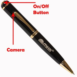 M MHB HD Quality Pen Camera Video/ Audio Hidden Recording HD Sound Clearity Pen Camera With 16gb memory.Original brand only Sold by M MHB.