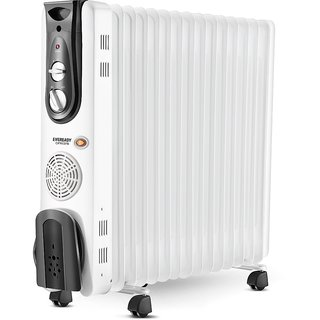Eveready 2900W OFR13FB Oil Filled Radiator White