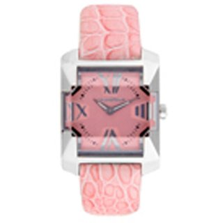 Chronotech Square Dial Pink Analog Watch For Women-Ct7920L07