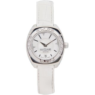 Sainthonore Round Dial White Analog Watch For Women-7420611Byen