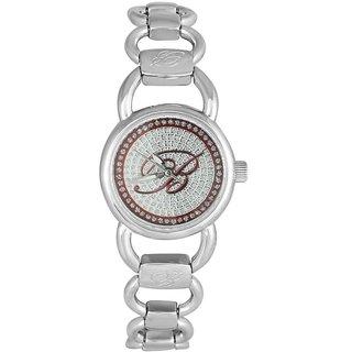 Blumarine Round Dial Silver Analog Watch For Women-Bm3078Ls06M