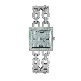 Blumarine Square Dial Silver Analog Watch For Women-Bm3080Ls01M