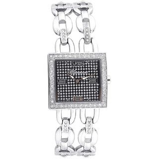 Blumarine Square Dial Silver Analog Watch For Women-Bm3080Ls02M